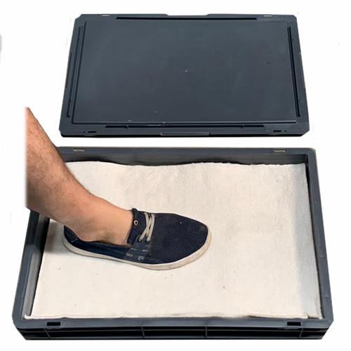 Kit limpieza suelas de calzado