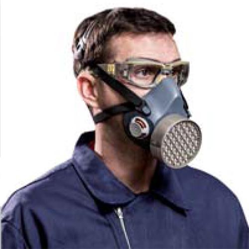Mascara buconasal para tóxicos e infecciosos