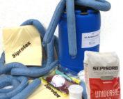 Kit Antiderrames en Bidón 90 litros