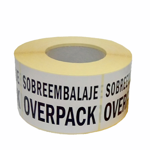 Marca Sobreembalaje Overpack