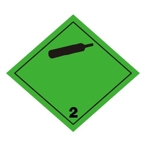 Etiqueta ADR Clase 2.2 Gases no inflamables no tóxicos