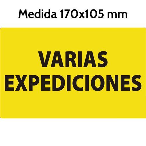 Etiquetas Varias Expediciones