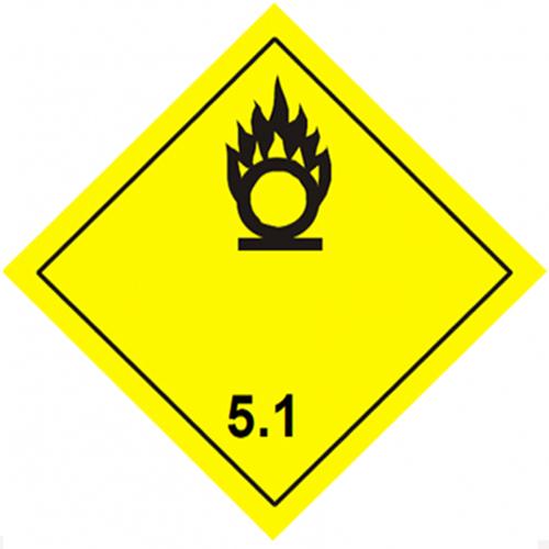 Etiqueta ADR Clase 5.1