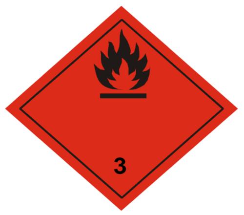 Etiqueta ADR Clase 3