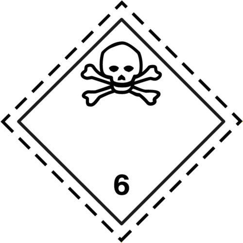 Etiqueta ADR Clase 6.1