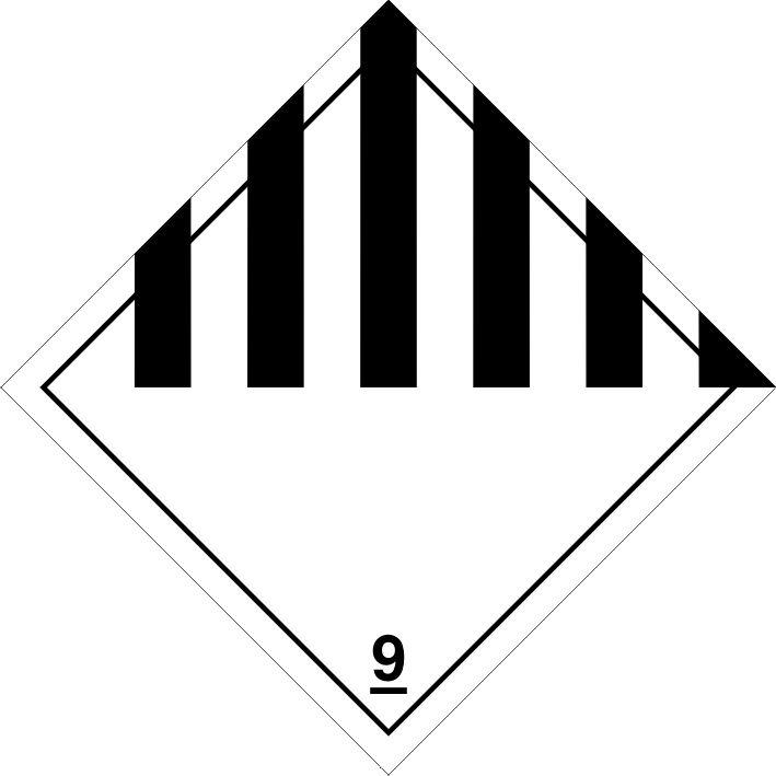 Etiqueta ADR Clase 9