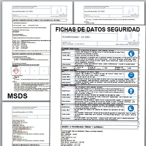 Elaboración Ficha de Datos de Seguridad - MSDS
